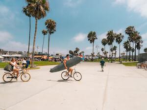 fietsen in los angeles