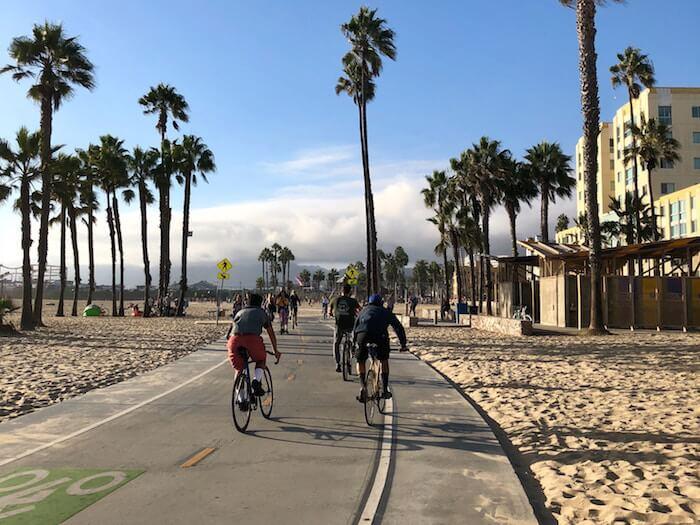 fietsen venice beach