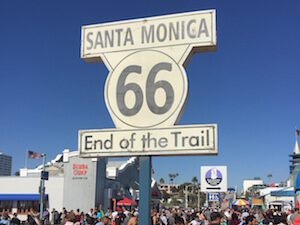 route 66 los angeles